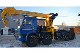 КАМАЗ 63501 (8х8) с тяжелым КМУ
