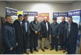 Делегация концерна PALFINGER AG посетила завод СПМ Авто