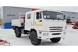 Грузопассажирский автомобиль (ГПА) на шасси КАМАЗ 43502 (4х4) с КМУ Fassi F110A.0.22