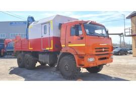Агрегат наземного ремонта водоводов (АНРВ) КАМАЗ 43118 (6х6) с КМУ Инман ИМ77