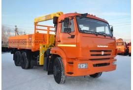 Бортовой автомобиль КАМАЗ 65115 с КМУ Soosan SCS513 (СПМ 732450)