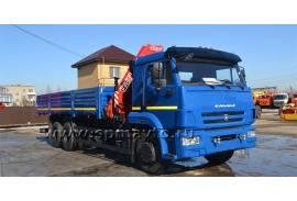 Бортовой автомобиль КАМАЗ 65117 (6х4) с КМУ Fassi F155A.0.22 (Модель 732457)