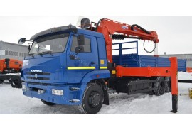 КАМАЗ 65117 (6х4)  КМУ KS2056H с буром