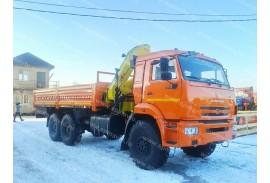 Бортовой автомобиль КАМАЗ 43118 (6х6) с КМУ HYVA HB 150 (Модель 732407)