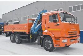 Бортовой автомобиль КАМАЗ 65115 (6х4) с КМУ Инман ИМ 150N (Модель 732407)