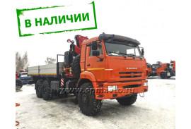 Бортовой автомобиль КАМАZ 43118 с КМУ FASSI F295A.2.22(СПМ 732407)