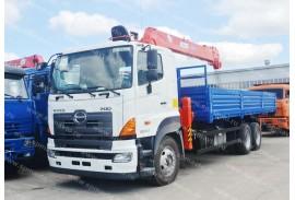 HINO 700 (6х4) с КМУ Kanglim KS2056H (Модель 732702)