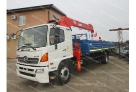 HINO 500 (4х2)  с КМУ Kanglim KS1256G-II (Модель 732302)