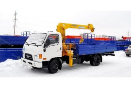 Hyundai HD78 (4х2) с КМУ Soosan SCS333 (Модель 732674)