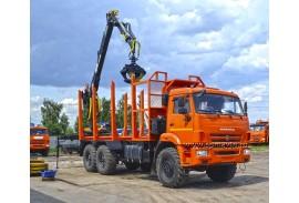 Лесовоз КАМАЗ 43118 (6х6) с гидроманипулятором ОМТЛ 70-02 (ВЕЛМАШ)