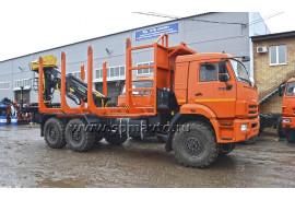 Сортиментовоз КАМАЗ 43118 с гидроманипулятором ОМТЛ 97-03