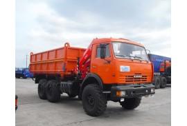 Самосвал КАМАЗ 43118 с КМУ Fassi F80А.0.22 (СПМ 732413)
