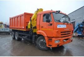 Самосвал КАМАЗ 65115 с КМУ HYVA HB 150E-2 (СПМ 732454)
