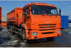 Самосвал КАМАЗ 65115 с КМУ Инман ИМ 150N (СПМ 732454)