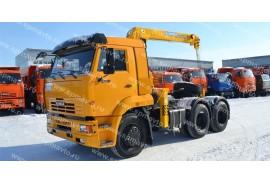 Седельный тягач КАМАЗ 65116  с КМУ Soosan SCS513 (СПМ 732315)
