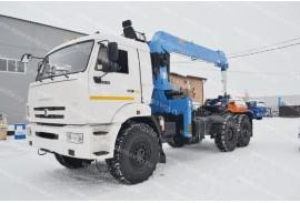 Седельный тягач КАМАЗ 43118 с КМУ DongYang SS1926 (СПМ 732409)