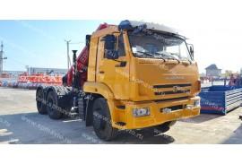 Седельный тягач КАМАЗ 65116 с КМУ Fassi F155A.0.22 (СПМ 732315)