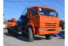 Седельный тягач КАМАЗ 53504 с КМУ Инман ИM 150N (СПМ 732414)