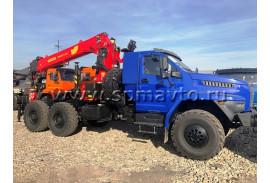Отгрузили седельный тягач УРАЛ 4320-6952-72Е5Г38 с КМУ Инман ИТ200!