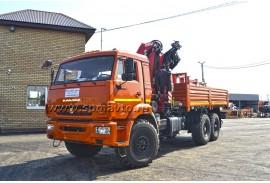 Бортовой автомобиль КАМАЗ 43118 с КМУ Fassi F155A.0.22 (СПМ 732407)