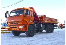 Бортовой автомобиль КАМАЗ 43118 с КМУ Fassi F215A.0.22 (СПМ 732407)